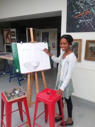 Art Lesson in Rouen