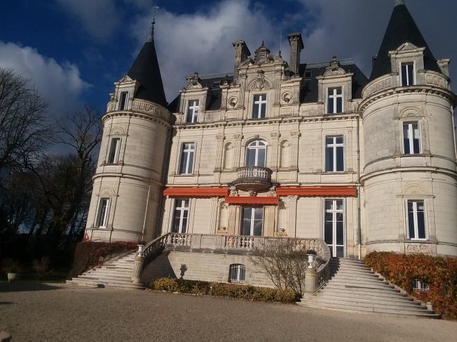 Domain de la Tortiniere, Chateau and hotel! Audrey Hepburn stayed there. While wondering in the park of La Tortiniere, Charles Perrault got the idea of writing Sleeping Beauty.
